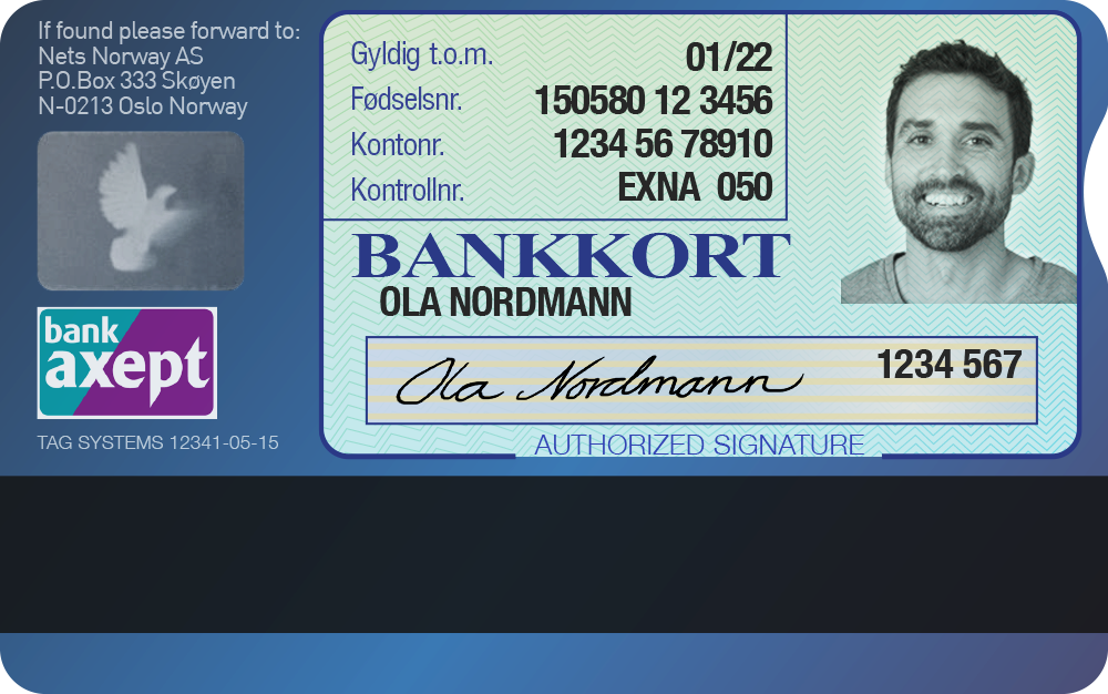 norwegian bank telefon