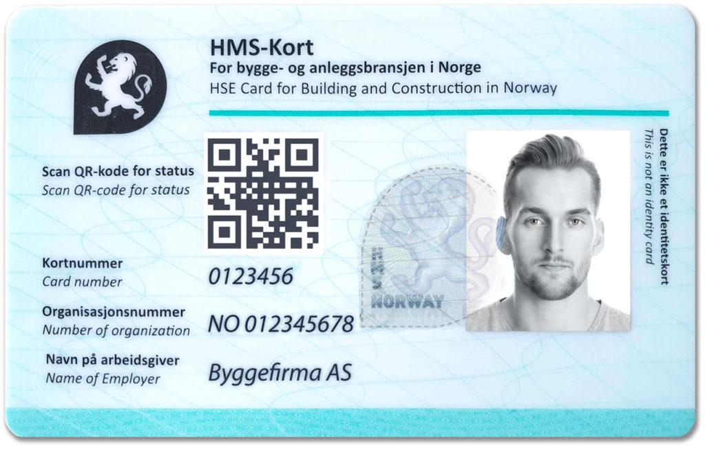 HMS-kort for byggebransjen